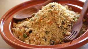 Thumbnail image for North African Feast Part 4: Couscous Recipe w/ Fruits, Nuts, Carrots