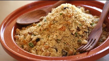 North African Feast Part 4: Couscous Recipe w/ Fruits, Nuts, Carrots