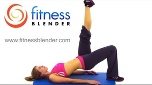 Fitness Blender Butt & Thigh Workout - 20 Minute Bodyweight Workout