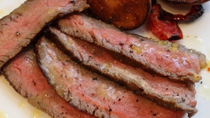 Tuscan-Style Flank Steak - Father's Day Grilled Steak Special!