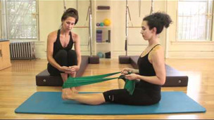 Pilates: Foot Exercises with Thera Band