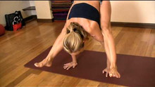 Lifting Up Into A Handstand from Firefly Pose