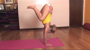 Thumbnail image for Float Forward from Downward Dog to Handstand