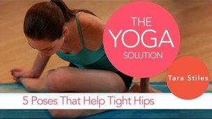 Thumbnail image for 5 Poses to Relieve Tight Hips