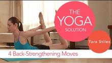 4 Back-Strengthening Poses