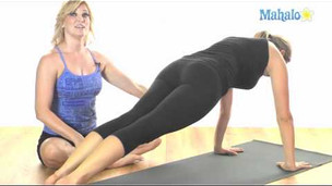 Learn Pilates: Push Up