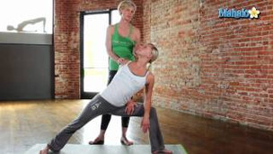 Thumbnail image for Side-Angle Pose with a Twist