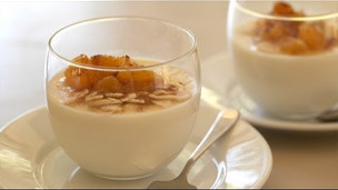 Thumbnail image for Honey Panna Cotta & Mint Green Tea Recipe (North African Feast Menu Part 5)