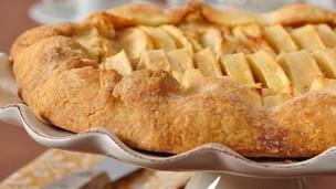 Buttery Apple Frangipane Tart