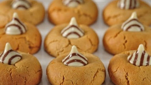 Thumbnail image for Peanut Blossom Cookies