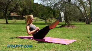 Thumbnail image for Ab exercises for a Firm & Flat Belly for Intermediate and advanced