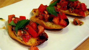 Thumbnail image for Bruschetta with Tomato & Basil Recipe