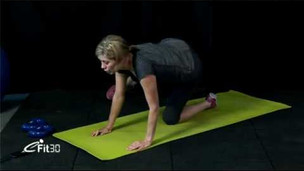 Thumbnail image for Six Week Boot Camp Core Lower Body workout