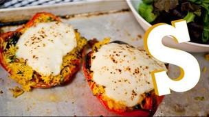Thumbnail image for Vegetarian Stuffed Peppers Recipe