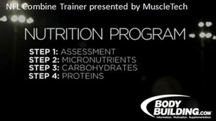 Thumbnail image for NFL Combine Trainer: Nutrition