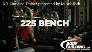 NFL Combine Trainer: 225 Bench Press