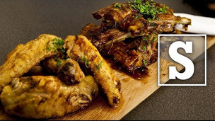 BBQ Ribs & Spicy Wings