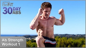 Thumbnail image for Ab Strength Workout 1: Shred | 30 DAY 6 PACK ABS