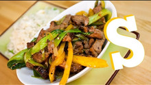 Beef in Black Beans Stir-Fry