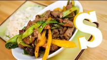 Beef in Black Beans Stir-Fry