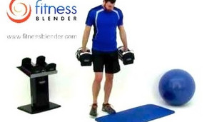 Thumbnail image for Upper Body Dumbbell Workout - Weight Training
