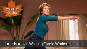 Thumbnail image for Jane Fonda: Walking Cardio Workout : Level 1