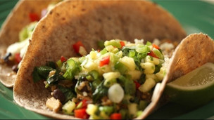 Thumbnail image for Veggie Tacos With A Fresh Pineapple Sauce