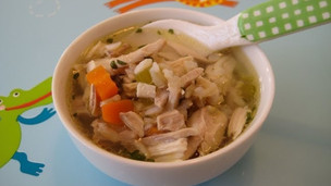 Thumbnail image for Homemade Chicken Soup and Rice