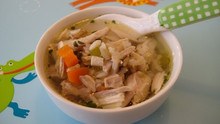 Homemade Chicken Soup and Rice