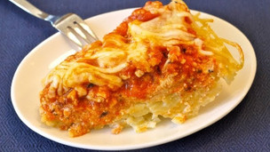 Spaghetti Pie For Kids