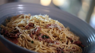 Linguine And Prosciutto