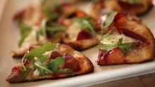 Grilled Flatbread With Plums And Burrata