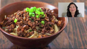 Thumbnail image for Taiwanese Noodles with Meat Sauce