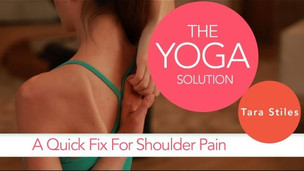 Quick Fix for Shoulder Pain