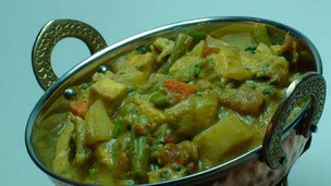 Thumbnail image for Indian Vegetarian Korma
