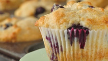Flavorful Blueberry Muffins