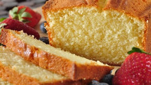 Golden Brown Moist Pound Cake