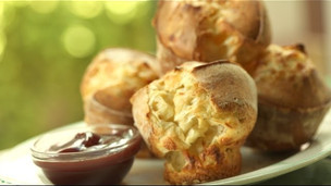Thumbnail image for How to Bake Rosemary Parmesan Popovers