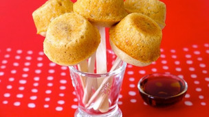 Pancake Sausage Muffins On A Stick For Kids