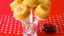 Pancake Sausage Muffins On A Stick For Kids