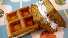 Pumpkin Waffles For Kids!
