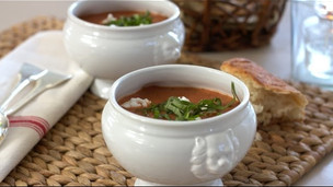 Thumbnail image for Roasted Tomato & Basil Soup Recipe
