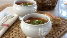 Roasted Tomato & Basil Soup Recipe