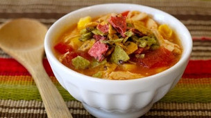 How To Make Healthy Chicken Tortilla Soup For Your Kids