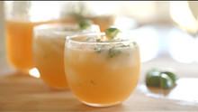 Cantaloupe & Basil Agua Fresca Drink