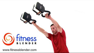 Thumbnail image for Double Kettlebell Workout - Fitness Blender's Calorie Blasting Kettlebell Training
