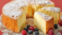 Sweet American Sponge Cake