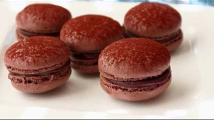 How To Make Dark Chocolate Macarons