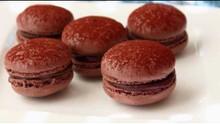 How To Make Dark Chocolate Macarons