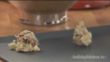 White Chocolate Chip Oatmeal Cranberry Cookies